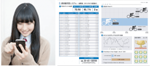Webシステム-ASAGAKU-スマホ学習女子学生イメージ