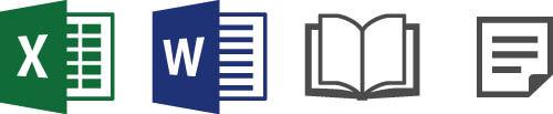 問題管理システム-問題登録媒体イメージ