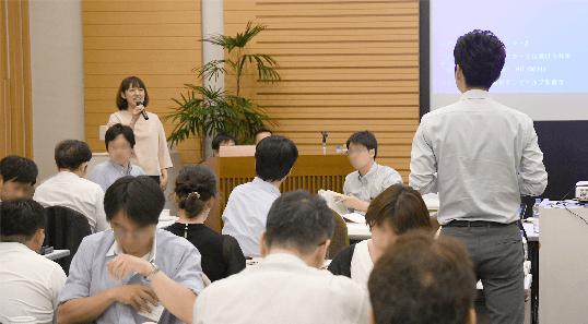 大学FD学習会2019_意見交換会の様子